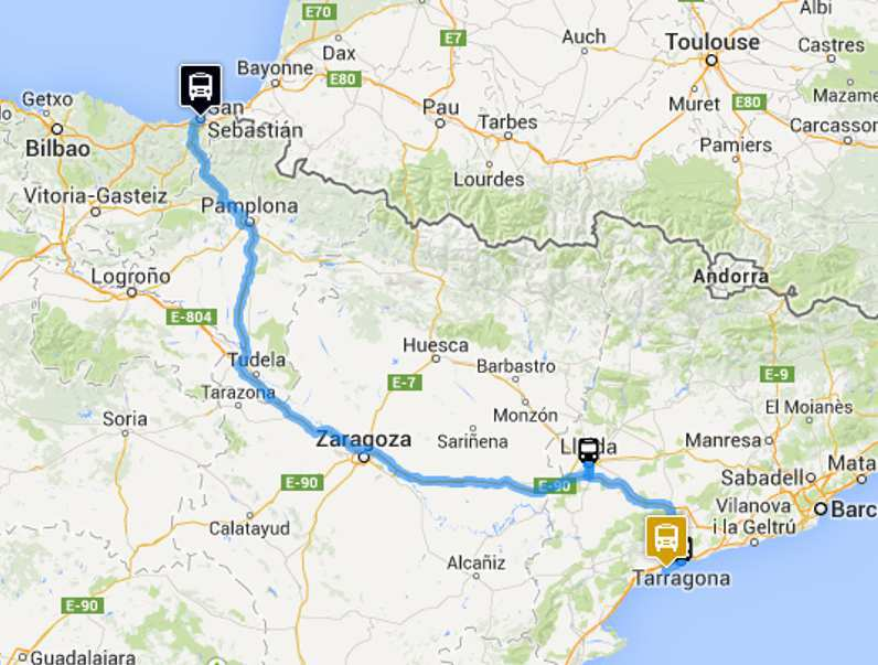 Travel toulouse to bilbao - Bus toulouse barcelona ...